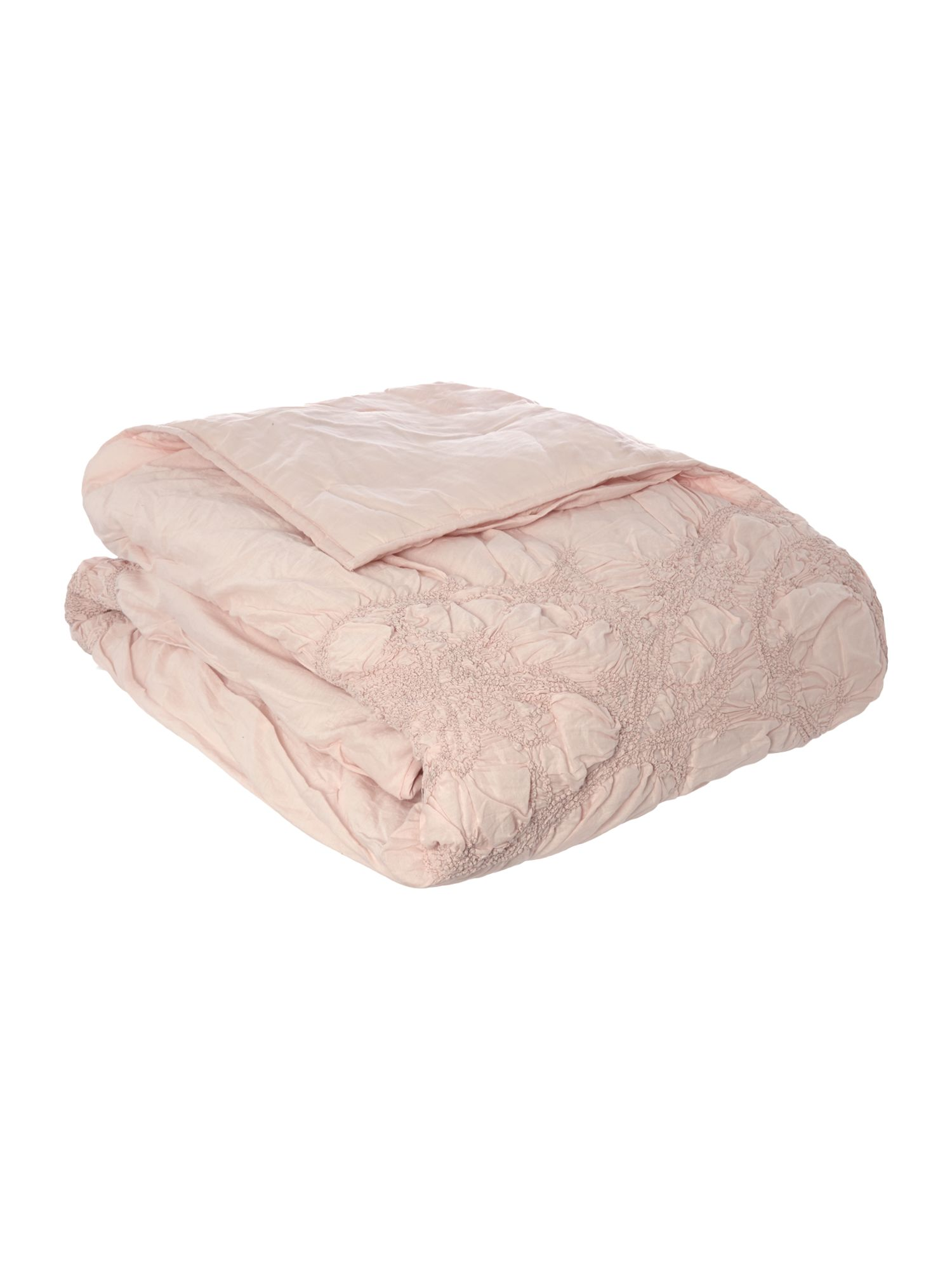 Shabby Chic Shabby Chic Soft pink voile bedspread