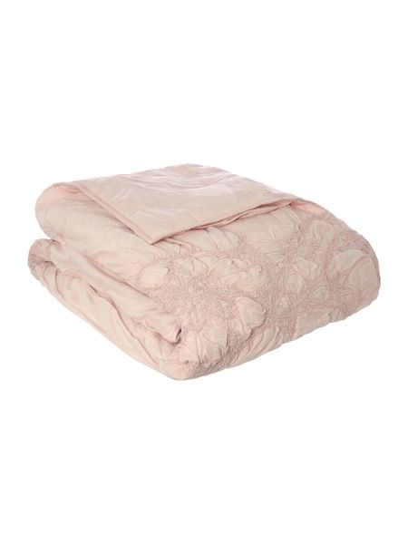 Shabby Chic Soft pink voile bedspread