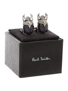 Stag beatle cufflinks