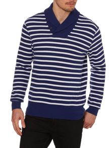 Polo Ralph Lauren Shawl Collar Bretton Stripe
