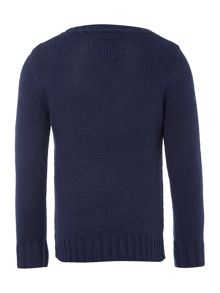 Boys crew neck jumper