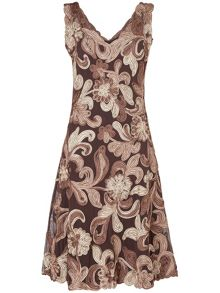Ottoline tapework dress