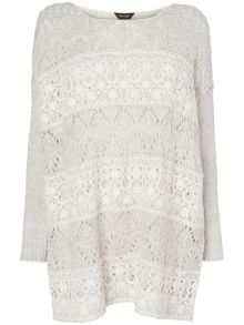 Phase Eight Emanuella lace jumper