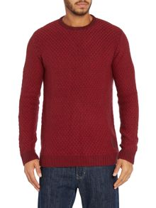 Textured stictch knit