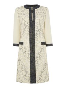Iris tweed lady coat