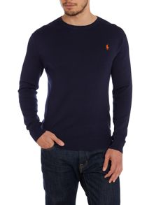 Crew Neck Slim Fit Pull Over Jumper