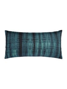 Blue tie dye cushion
