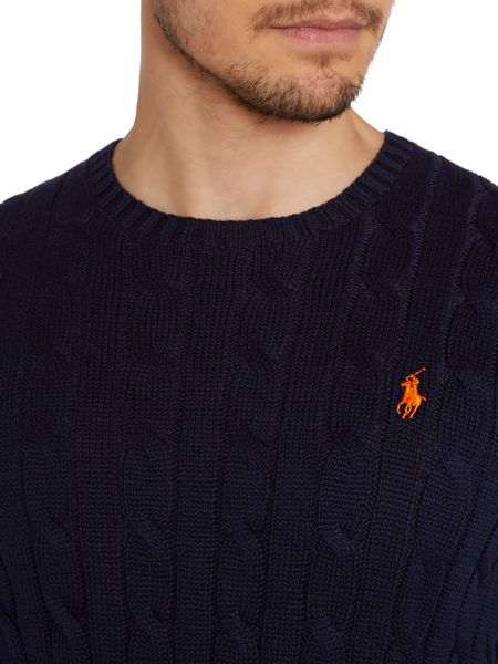 Polo Ralph Lauren Crew Neck Cable Jumper