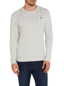 Ralph Lauren mens cable jumper