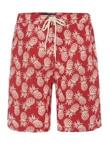 Criminal Pineapple print swim shorts