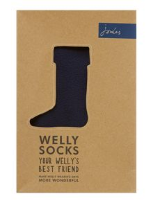 Boys fleece welly sock