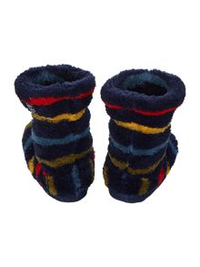 Boys soft fleece slippersock