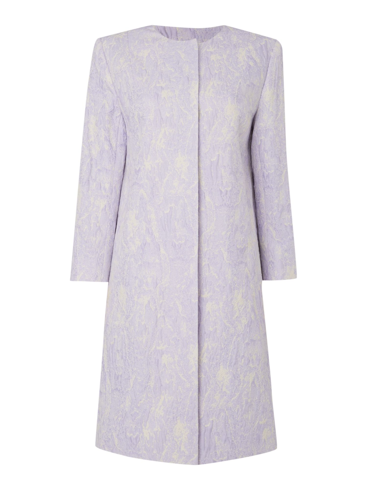 Linea Lily textured lady coat, Lilac
