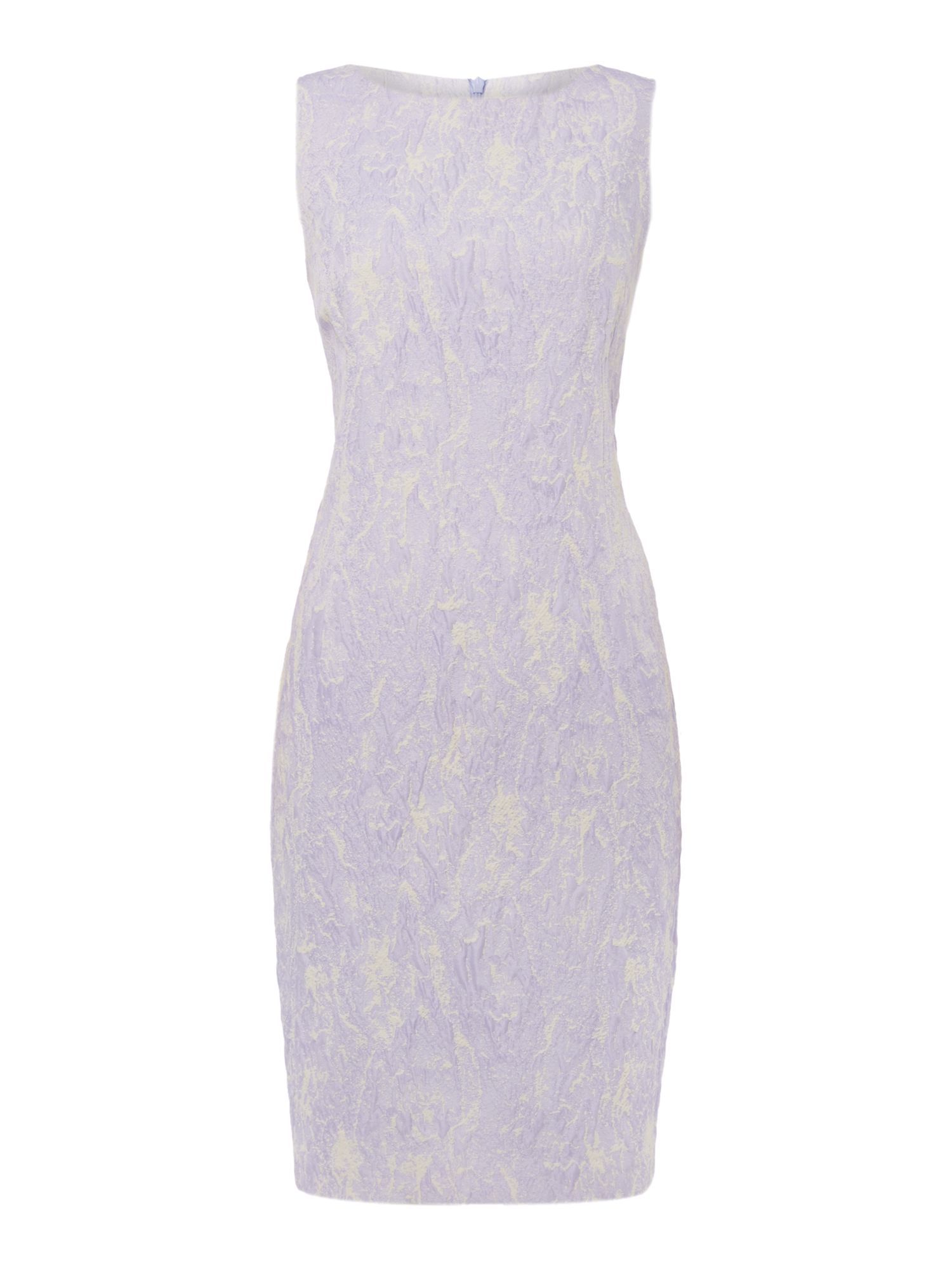 Linea Lily textured shift dress, Lilac