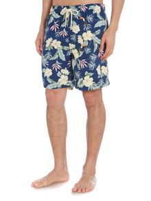 Howick Tropical print swim short