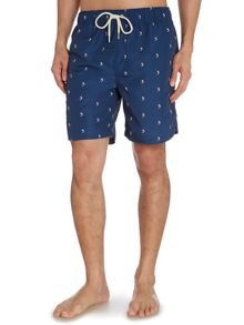 Marlin print swim short