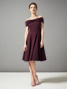 Phase Eight Odette grosgrain dress