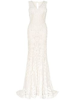 Kiera tapework wedding dress