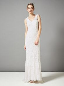 Phase Eight Kiera tapework wedding dress