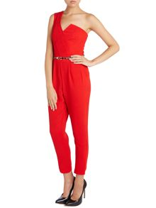 Mk one shoulder jumpsuit