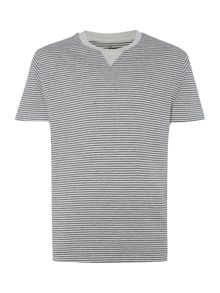 Ecru striped t-shirt