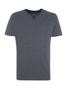 Navy striped t-shirts