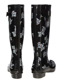 Rosemary gardens paisley dog tall welly