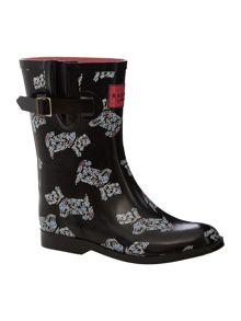 Rosemary gardens paisley dog short welly