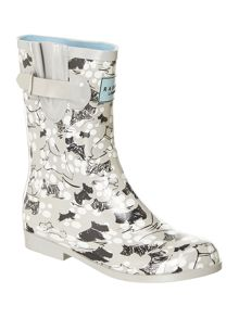 Cherry blossom dog short welly