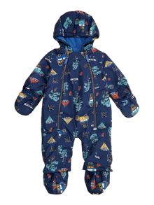 Baby boys camping snowsuit