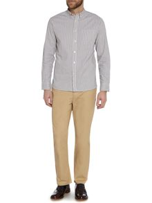Turlock Button Down Stripe Oxford Shirt