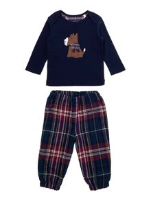 Boys tee and jogger set