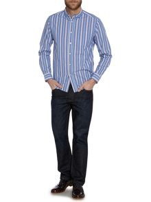 Brockton Wide Stripe Long Sleeve Shirt