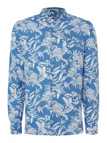 Summerside print long sleeve shirt