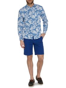 Howick Summerside print long sleeve shirt