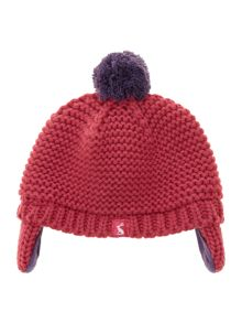 Baby girls knitted hat