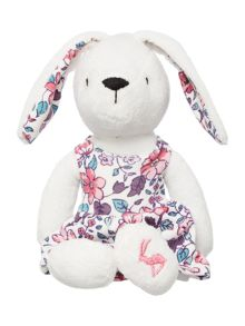 Baby girls rabbit cuddly toy