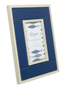 Navy Wooden Frame 4x