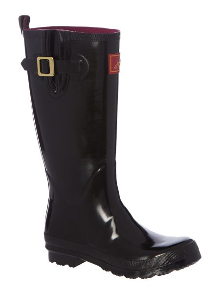 Joules Field gloss welly