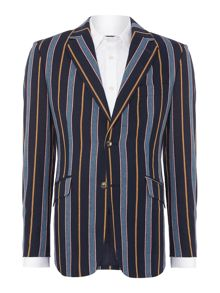 Rowan stripe boating blazer
