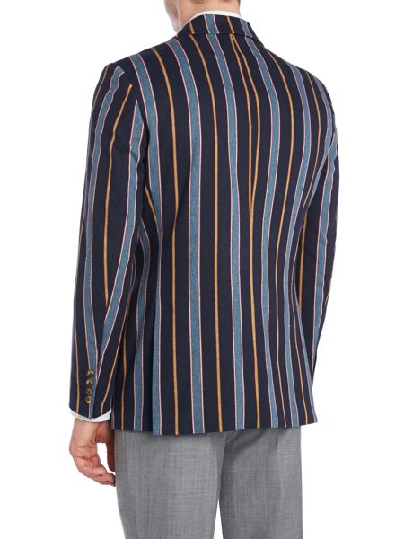 New & Lingwood Rowan stripe boating blazer