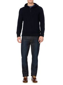Allen hooded jumper