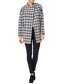 Yasmine dogtooth coat