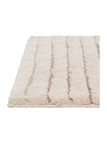 Sand stripe bathmat