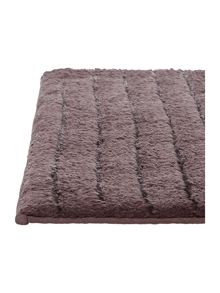 Casa Couture Stripe Bath Mat in Slate