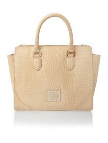 Kiera double zip winged handbag