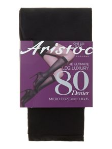 80 den opaque knee highs