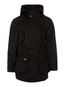 Barbour Boys reiver coat