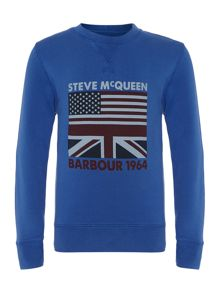 Boys union crew neck jumper