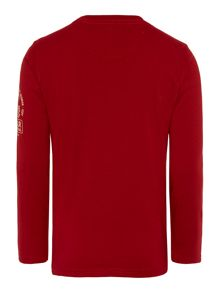 Boys long sleeve start tee